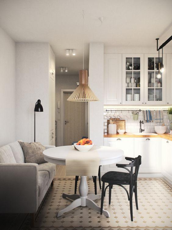 Мягкий диван на кухню со спальный местом