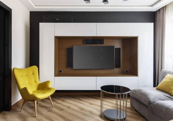 навесные шкафы в гостиную современные, фото 37