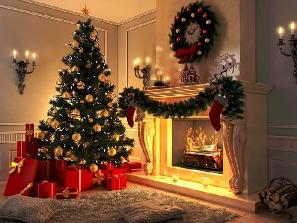 как украсить комнату на новый год, фото 1