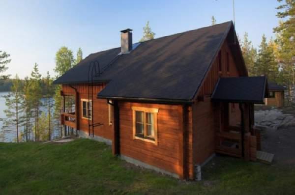 одноэтажные дома из клееного бруса, фото 1
