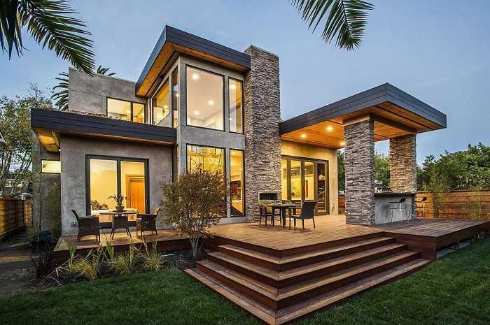 красивые дома проекты фото, фото 48