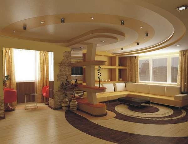 натяжной потолок на кухне, фото 6