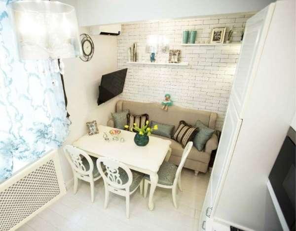 компактный раскладной диван на кухню, фото 31