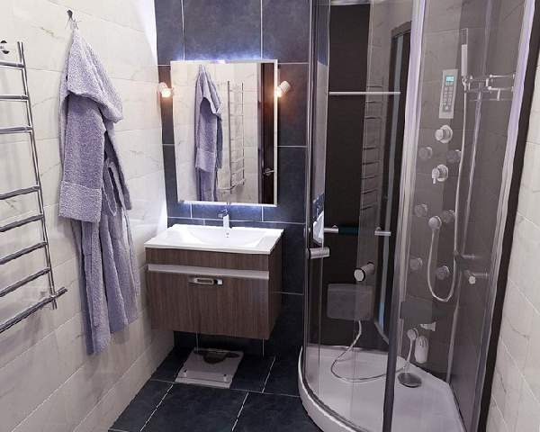 ремонт маленькой ванной своими руками, фото 22