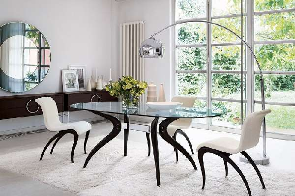 дизайнерские стеклянные столы, фото 10