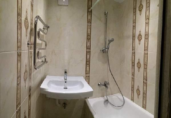 ремонт совмещенной маленькой ванной, фото 24