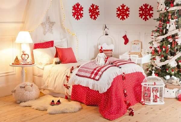 как украсить детскую комнату на новый год, фото 42