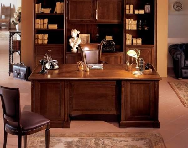 интерьер кабинета в доме, фото 13