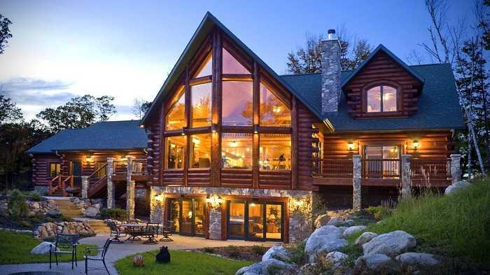 Красивые дома россии фото