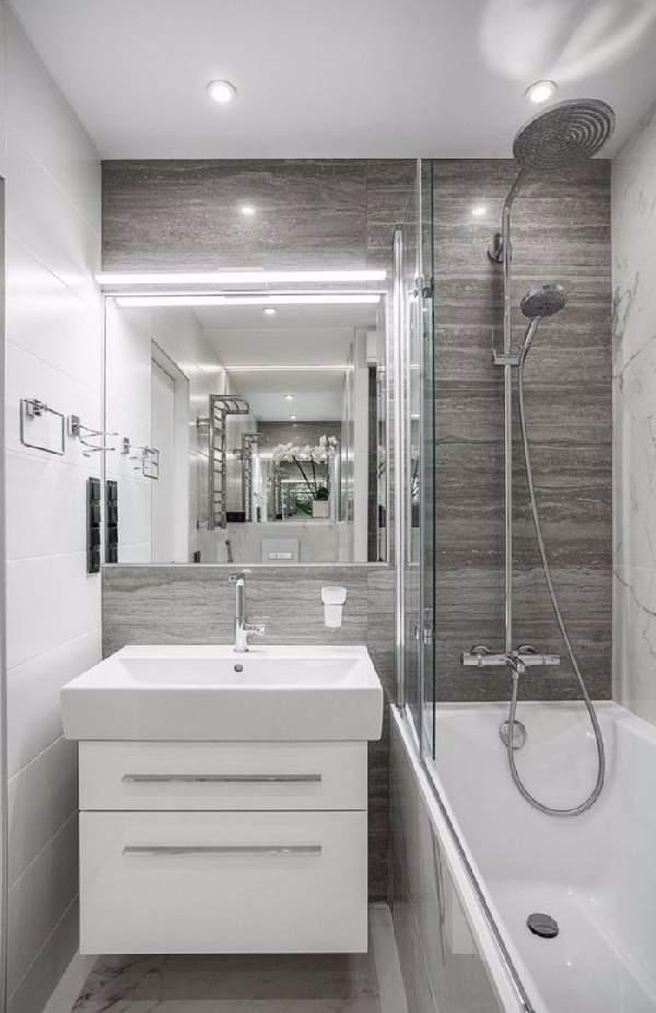 дизайн ремонта маленькой ванны, фото 26