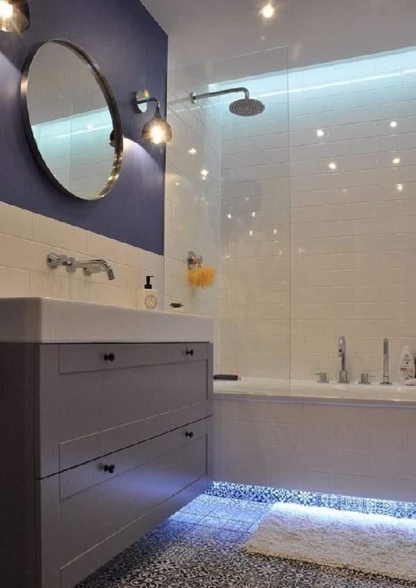идеи ремонта маленькой ванной комнаты, фото 27