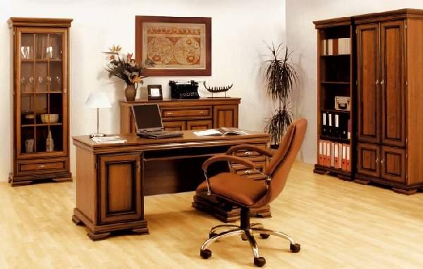 рабочий кабинет дома интерьер, фото 15