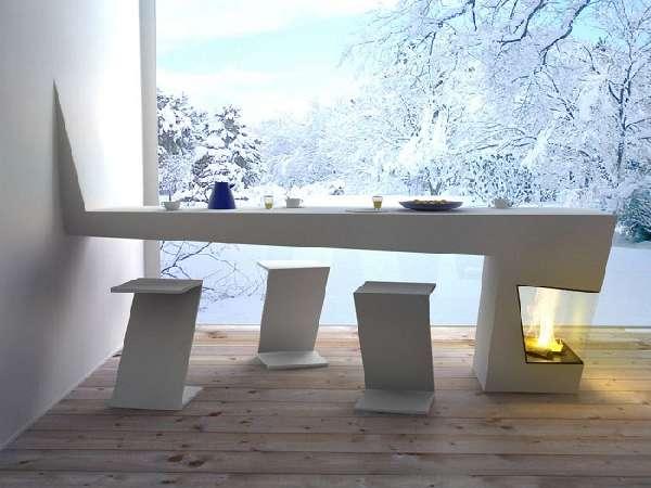 дизайнерские столы и стулья для кухни, фото 20