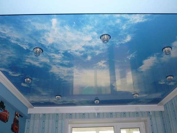 глянцевые натяжные потолки, фото 12