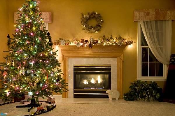 видео как украсить комнату на новый год, фото 45