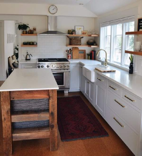 дизайн кухни в доме, фото 32