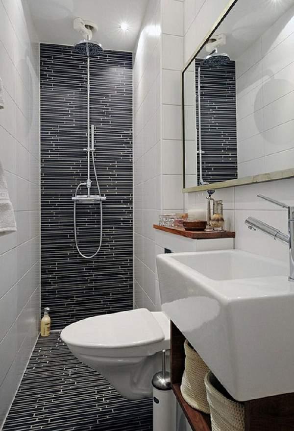 ремонт маленькой ванной совмещенной с туалетом фото, фото 12