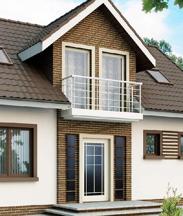 французский балкон в частном доме, фото 23