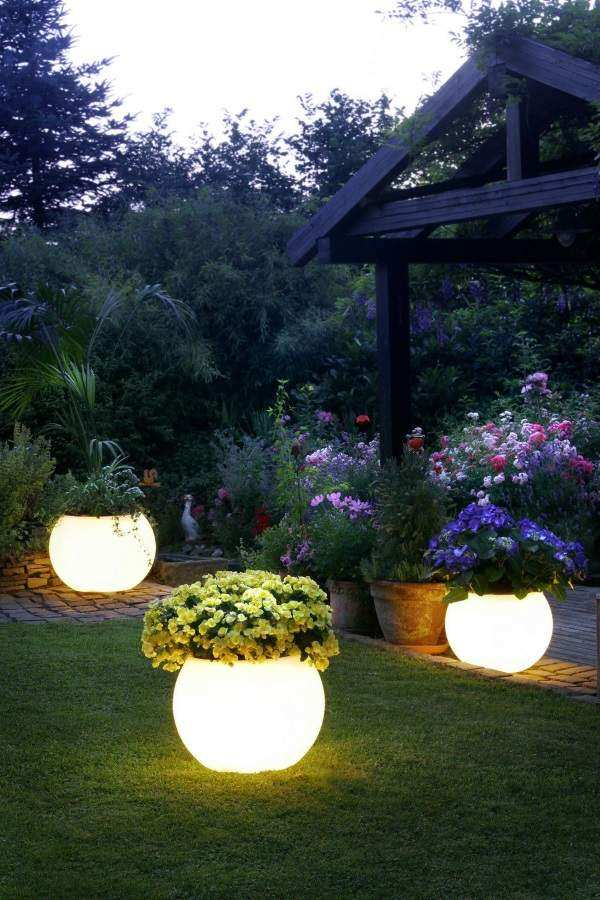 светильники для сада своими руками, фото 44