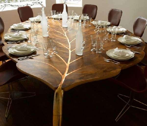дизайнерские столы из дерева, фото 3
