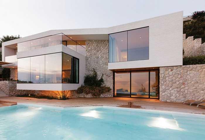красивые фасады домов, фото 9
