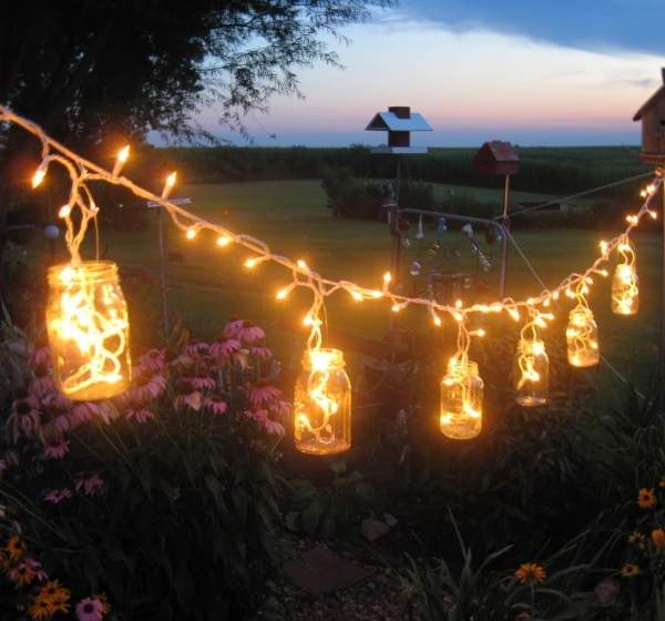 Светильники для улицы своими руками 59