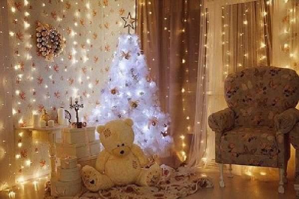 как украсить комнату на новый год фото, фото 50