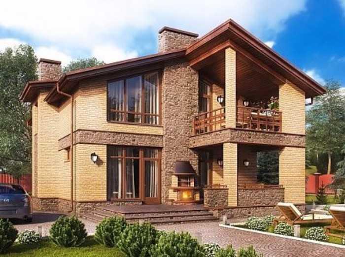 красивые фасады домов, фото 10
