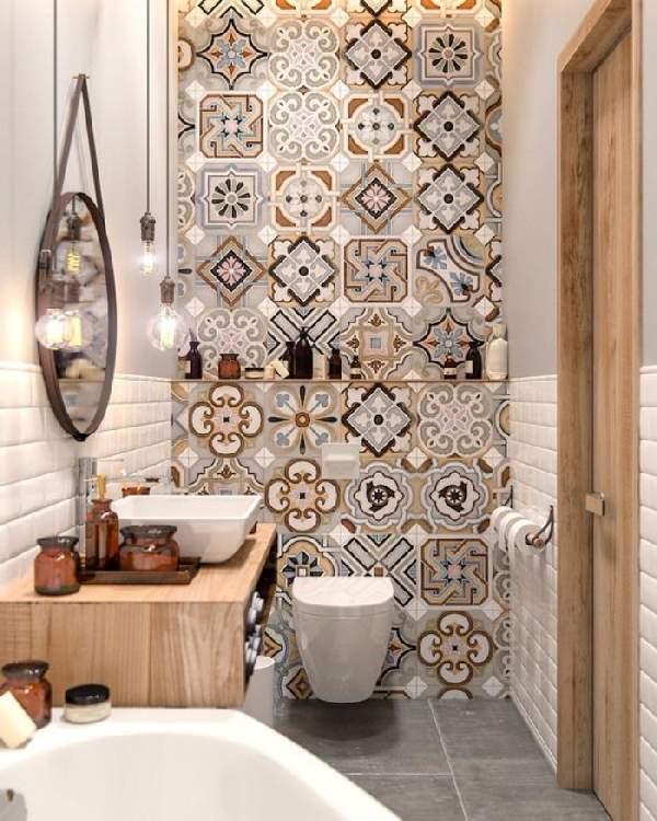 ремонт маленькой ванной комнаты и туалета, фото 15