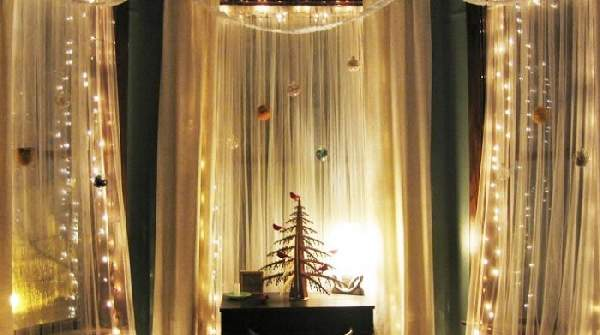 как украсить комнату на новый год ютуб, фото 51