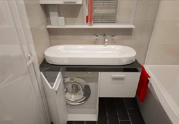 ремонт в маленькой ванной комнате фото, фото 28