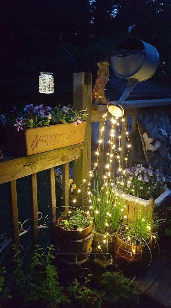 как сделать садовые светильники своими руками, фото 47