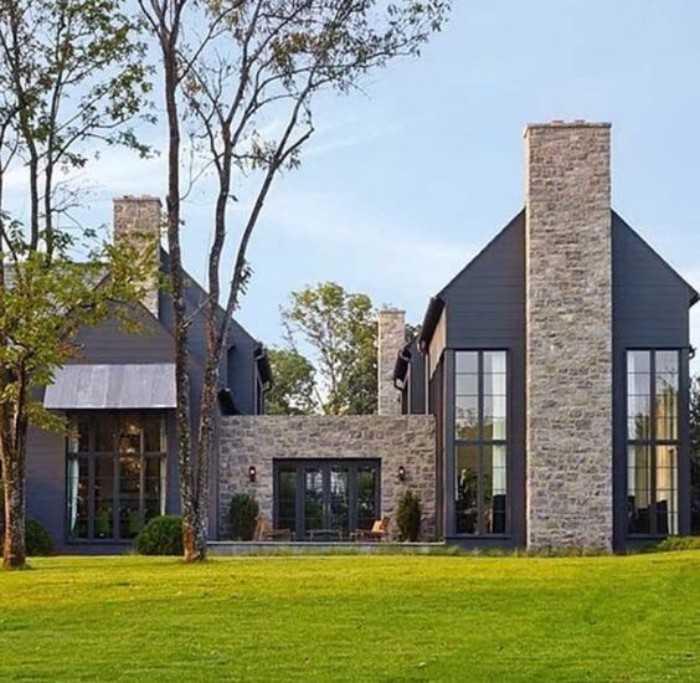 красивые фасады домов, фото 12