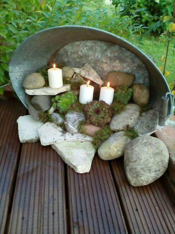 садовый светильник своими руками, фото 48