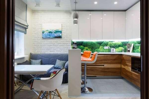раскладные диваны для гостей в кухню, фото 10
