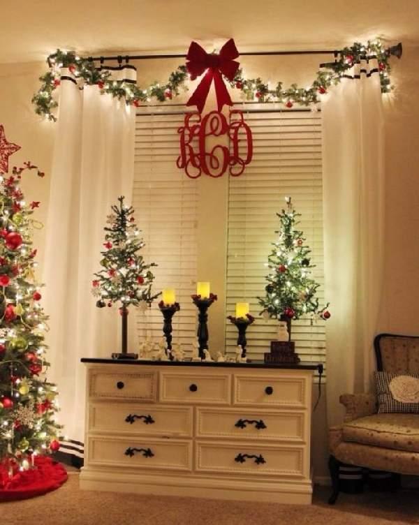как лучше украсить комнату на новый год, фото 12