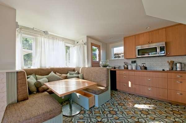 диван на кухню раскладной с ящиком, фото 11
