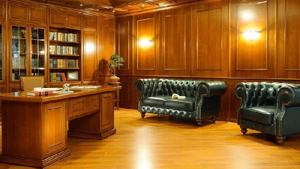 интерьер рабочего кабинета, фото 28