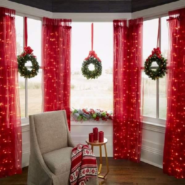 как бюджетно украсить комнату к новому году, фото 15