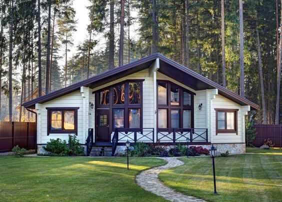 красивые фасады домов, фото 15