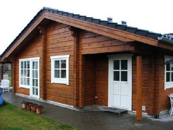 проекты одноэтажных домов из бруса, фото 18