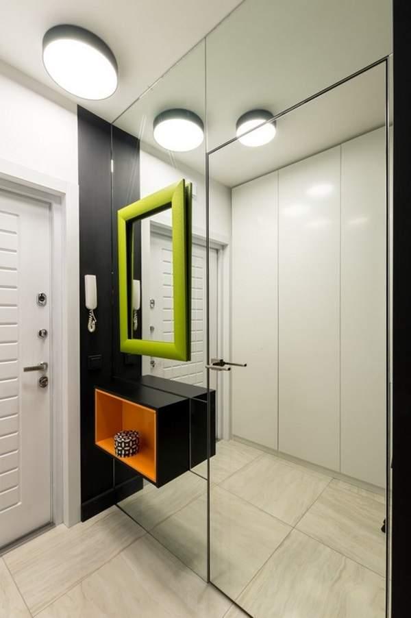 узкие длинные прихожие дизайн фото в квартире, фото 18
