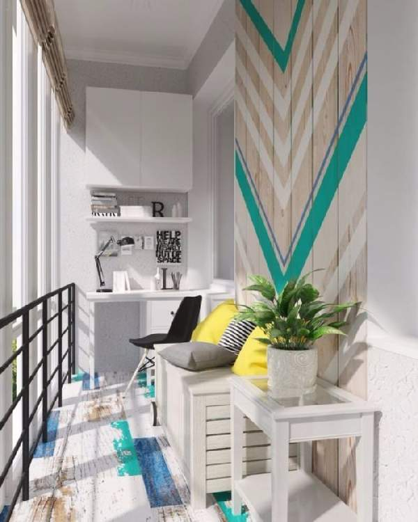 дизайн французского балкона, фото 3