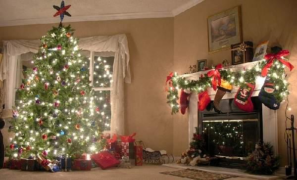 украсить комнату к новому году своими руками, фото 3