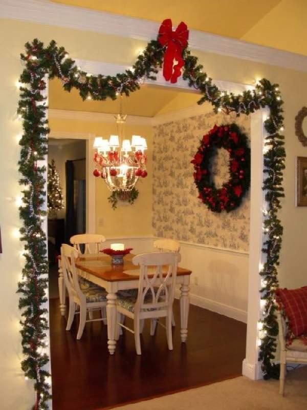 как украсить комнату гирляндой на новый год, фото 16