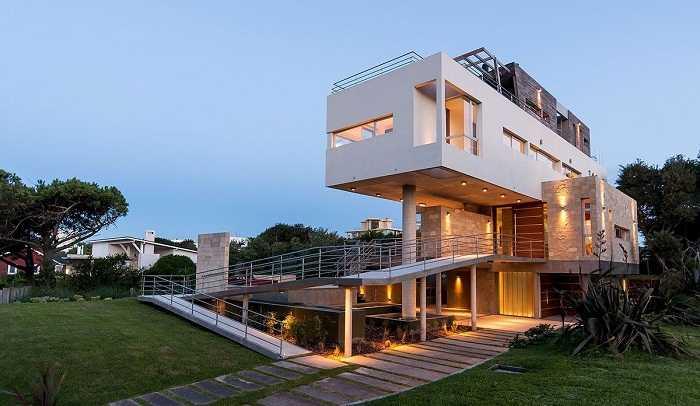 Фасады домов частных своими руками фото 339