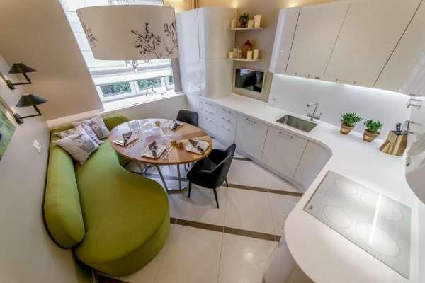 раскладной диван кровать на кухню, фото 15