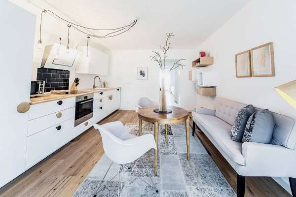 стильный раскладной диван на кухню, фото 17