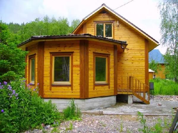 проекты одноэтажных домов из бруса, фото 23