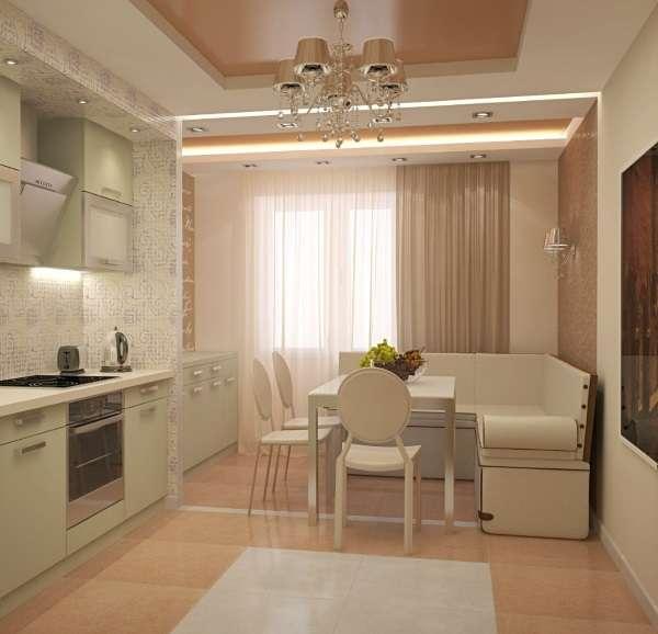 стильный раскладной диван на кухню, фото 30